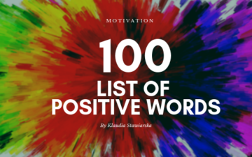 100 list of positive words