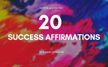 20 Success Affirmations