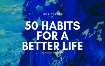 50 habits for a better life