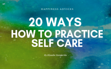 how to practice self care